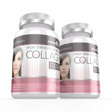 Hydrolysed Collagen High Strength 1000mg for Hair Skin & Nails 120 Tablets