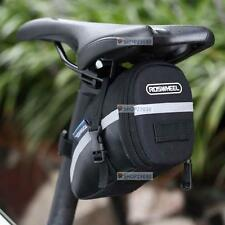 Waterproof Cycling Seat Pouch Bicycle Tail Rear Storage Bike Saddle Tube Bag FT