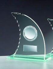 Glas-Pokal Segel (für über 60 Sportarten verfügbar) mit Wunschgravur