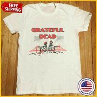 FREESHIP Vintage 1988 Grateful Dead Tour T-Shirt Reprint ALL SIZE S-6XL