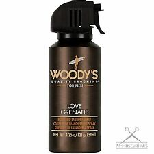 (€9,33/100ml) WOODY'S Deo Body Spray LOVE GRENADE 150ml mit Pheromonen f. Männer