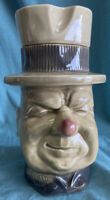 "EXCELLENT! VINTAGE MCCOY W.C FIELDS #153 CERAMIC COOKIE JAR CONTAINER 11"" USA"