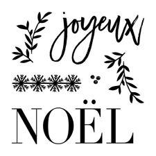 Ctmh B1622 Saison de Noel New Stamp Set French joy noel joyeux Christmas fancy