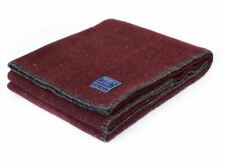 Faribault Woolen Mill Co. Utility Blanket Throw - Red