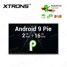 "10.1"" Single 1 DIN Car Stereo Radio Android 9.0 GPS Navi WiFi DAB+ Head Unit NEW"