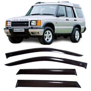 For Land Rover Discovery 98-04 Window Side Visors Sun Rain Guard Vent Deflectors