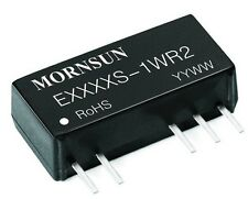QTY 5 MORNSUN E2412S-1W DC/DC converter 24V IN +/- 12V isolated dual OUT 1W