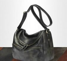 Water Resistant Faux Leather Diaper Bag - BLACK - AN & N Quality