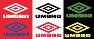 Umbro 1990s Felt Football Shirt Soccer Numbers Heat Print Football Vintage Logo