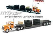 NEWRAY 1:32  KENWORTH  W900 LOWBOY SEMI-TRUCK WITH BIG TIRES 10613