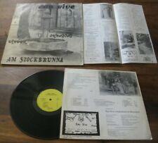EAU VIVE-AM stockbrunna Rare French Folk Prog Private Press alsacien 78'
