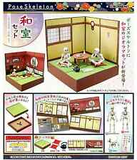 Pose Skeleton Japanese Room Set - Re-ment , h#4