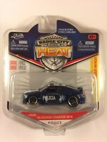 Jada Badge City Heat '06 2006 Dodge Charger SRT8 Police Car Policia Diecast 1/64