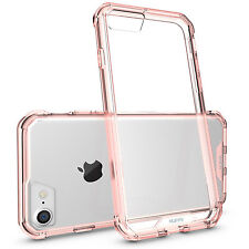 For iPhone 8, iPhone 7 Case Huffii Slim Scratch Resistant ShockProof - Rose Gold