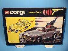CORGI TOYS 271 BOND DB5 ASTON MARTIN ORIGINAL OUTER BOX CARDBOARD HEADER RARE