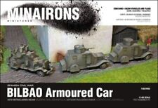 Minairons 1:100 Bilbao armoured car (4 vehicles) - 15mm Spanish Civil War