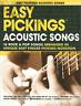 16 ACOUSTIC ROCK & POP SONGS Fingerpicking Guitar Sheet Music Book Songbook