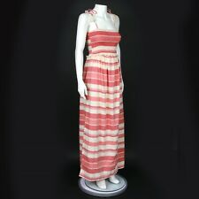 New ASOS Maternity Beautiful Red Striped Summer Maxi Dress US - 6 - NWT