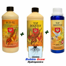 HOUSE & GARDEN BUD XL TOP BOOSTER TOP 1L SHOOTER 500ML 4 LARGE AND BIG BUD SET