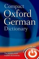 Compact Oxford German Dictionary by Oxford Dictionaries (Paperback, 2013)