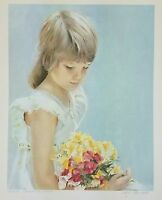 Tuesday's Child Leon Barnard Hand Signed Limited Edition Lithograph 99/300