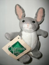 "Charming Tails Bunny Rabbit ""The Squashville Gang:"" Plush Animal New with Tag"
