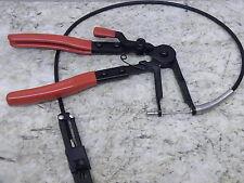 Flexible Long Reach Remote Ratchet Hose Clamp Pliers 1123