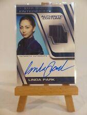 2005 Star Trek Enterprise Costume Autograph Linda Park as Hoshi Sato Incentive