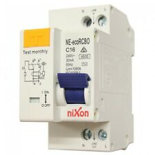 16AMP - economical RCBO Two Module 4.5kA Safety Switch Combined RCD + CB