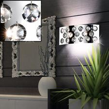 LED verre cristal applique murale éclairage salon chrome interrupteur lampe WOFI