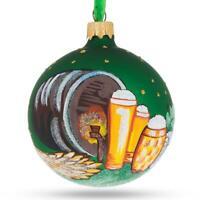 Zebra Martini Glass Christmas Ornament liquor alcohol bartender drink New