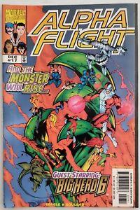 Marvel Comics Alpha Flight #17 1st Appearance Big Hero 6 High Grade!