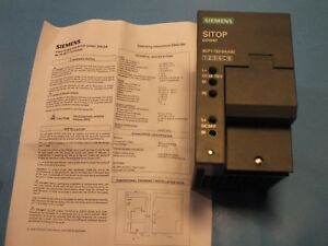 SIEMENS  SITOP power  6EP1732-0AA00 Power supply