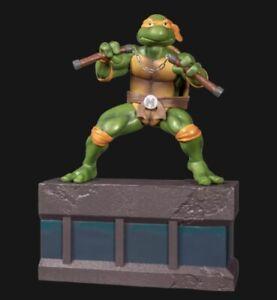 """Teenage Mutant Ninja Turtles PVC 8"""" Statue Figure 1/8 Scale  Michelangelo NIB"""