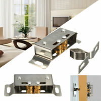 5pcs Home Door Cabinet Cupboard Furniture Magnetic Catch Stopper Roller Latch