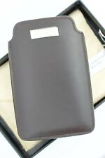 Chopard 95012-0108 iPhone Case Brown Leather Business Card Holder Made in Italy