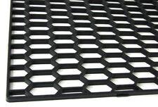 BLACK ABS UNIVERSALE 120cm x 40cm Griglia a Nido D'Ape Griglia Mesh Vent 120 40 cm grill