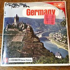 GERMANY B193 vintage Viewmaster 3 reels set factory sealed