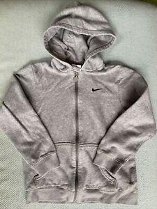 Grey Kids Nike Hoodie XL Age 7-8