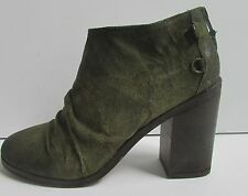 Boutique 9 Ankle Boots With Warn Look Size 8 Black or Green NEW