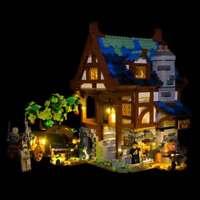LIGHT MY BRICKS - LED Light kit for Lego Medieval Blacksmith 21325 USB Powered
