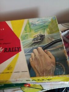 VINTAGE BELL CROSS COUNTRY RALLY BOARD GAME BY BELL TOY AND GAMES PRE-OWNED