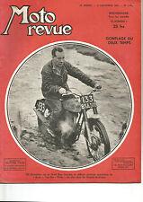 MOTO REVUE N°1.063 GONFLAGE DU DEUX TEMPS / JONGHI 125 / 125 GNOME-RHONE R4...
