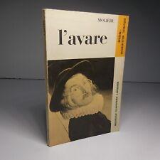 Molière 1971 L'Avare classiques Larousse littérature théâtre Paris France N6570