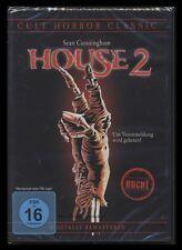 DVD HOUSE 2 - UNCUT - CULT HORROR CLASSIC - SEAN CUNNINGHAM *** NEU ***