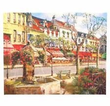Print Painting-Canvas (Multicolor) - Fountain