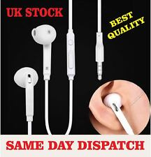 Samsung Earphone  Ear buds Handfree For Samsung Galaxy  S5 S7 S6 + White