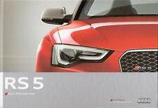 Prospekt / Brochure Audi RS5 Cabriolet 11/2012 +++HARDCOVER+++ mit Preisliste