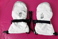 The North Face  HYVENT Girls Mittens  White ,gray  and black  Size Medium