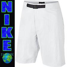 Nike Men's Size 34 Everett Woven Skateboarding Shorts White 807550
